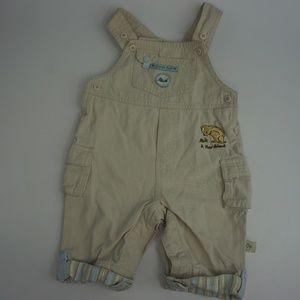 Classic Pooh Baby Boys Jumpsuit Jumper Jeans Short